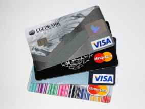bank banking business cards